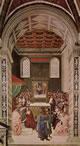 Enea Silvio riceve il cappello cardinalizio