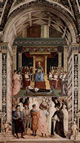 Pio II canonizza santa Caterina da Siena