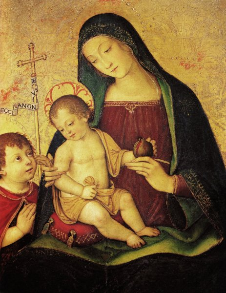 Pinturicchio: Madonna della melagrana
