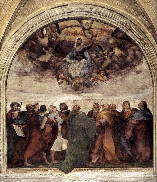 Assunzione della Vergine di Rosso Fiorentino