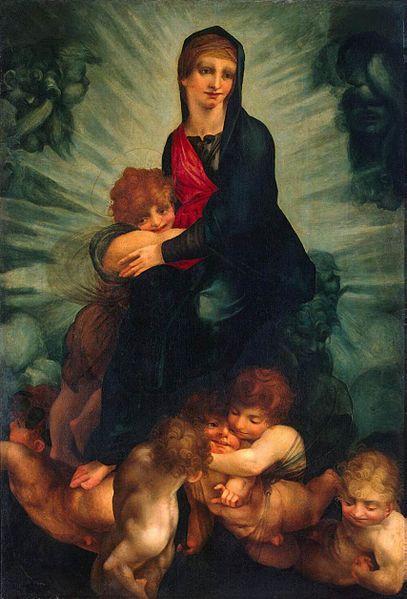 Rosso Fiorentino: Madonna in gloria con putti