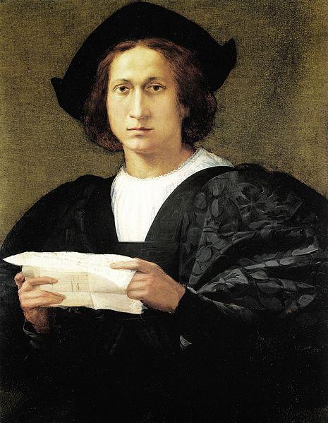 Rosso Fiorentino: Ritratto di giovane con una lettera