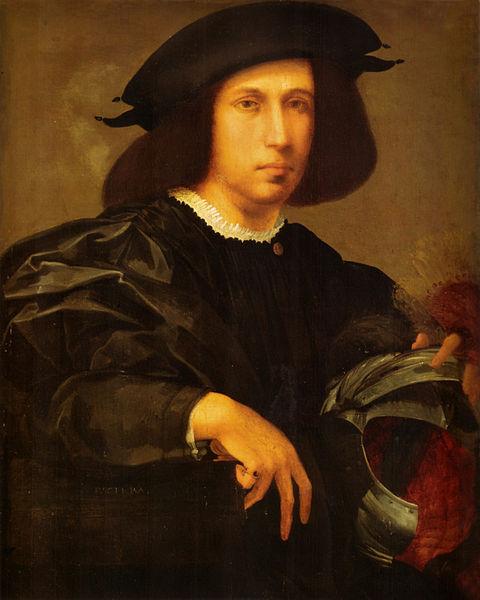 Rosso Fiorentino: Ritratto d'uomo con elmo
