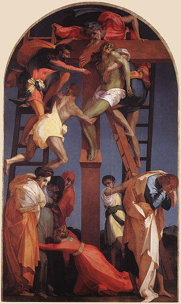 Rosso Fiorentino: Deposizione dalla croce (Volterra)
