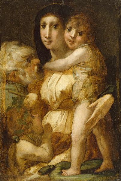 Rosso Fiorentino: Sacra Famiglia con san Giovannino (Baltimora)
