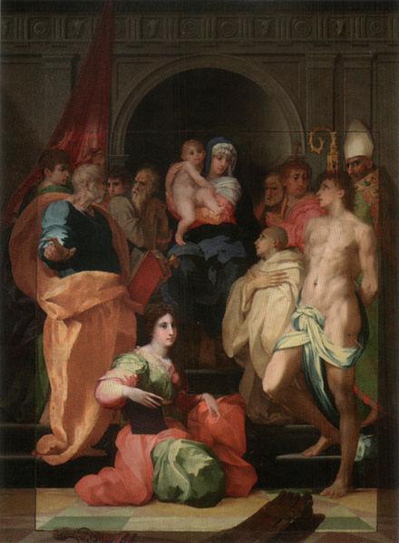 Rosso Fiorentino: La Pala Dei (Galleria Palatina di Firenze)