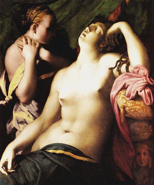 Rosso Fiorentino: Morte di Cleopatra (Braunschweig)