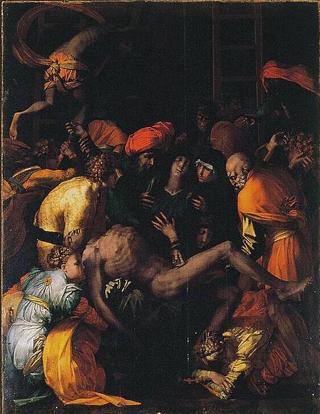 Rosso Fiorentino: Compianto sul Cristo deposto (Sansepolcro)