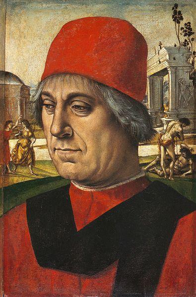 Signorelli: Ritratto d'uomo (Staatliche Museen di Berlino)