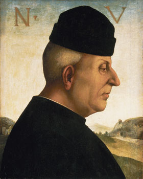 Luca Signorelli: Ritratto di Niccolò Vitelli