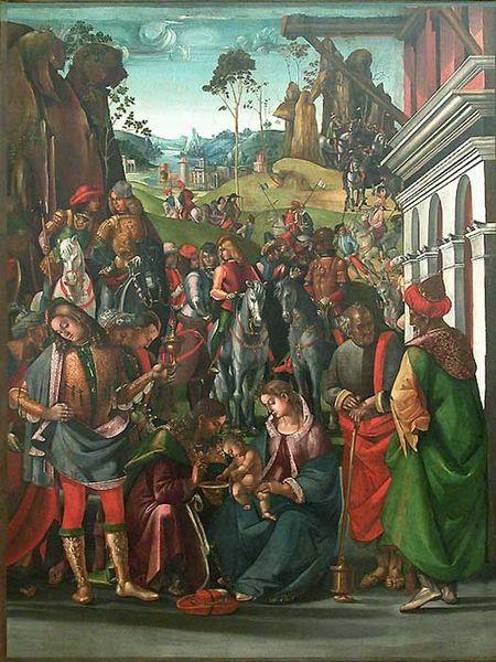 Luca Signorelli: Adorazione dei Magi