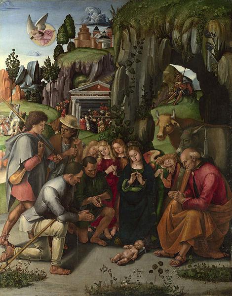 Adorazione dei pastori di Luca Signorelli