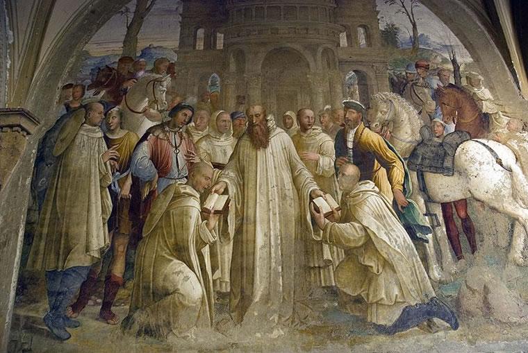Bartolomeo Neroni (Riccio): Come Benedetto manda Mauro in Francia