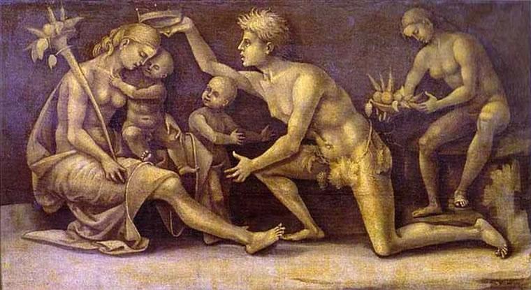 Luca Signorelli: Allegoria della Fertilità e dell'Abbondanza