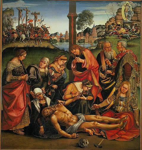 Compianto sul Cristo morto (Cortona)