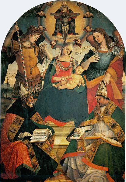 Madonna della Trinità di Luca Signorelli