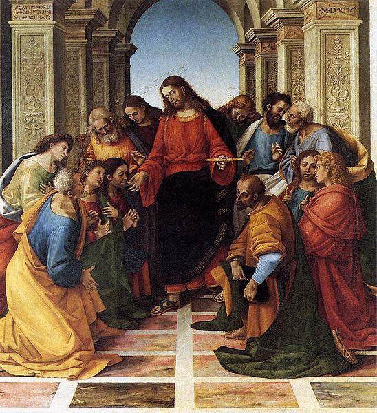 Luca Signorelli: Comunione degli Apostoli