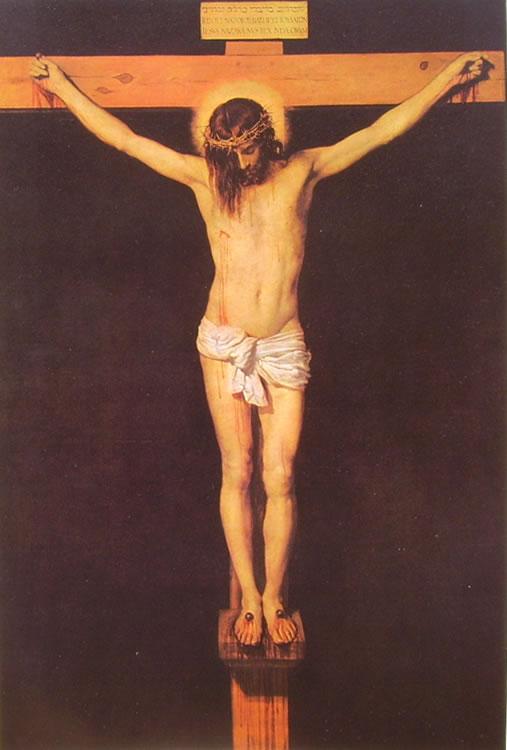 Crocifisso di Velàzquez, Madrid Prado (cm. 169)