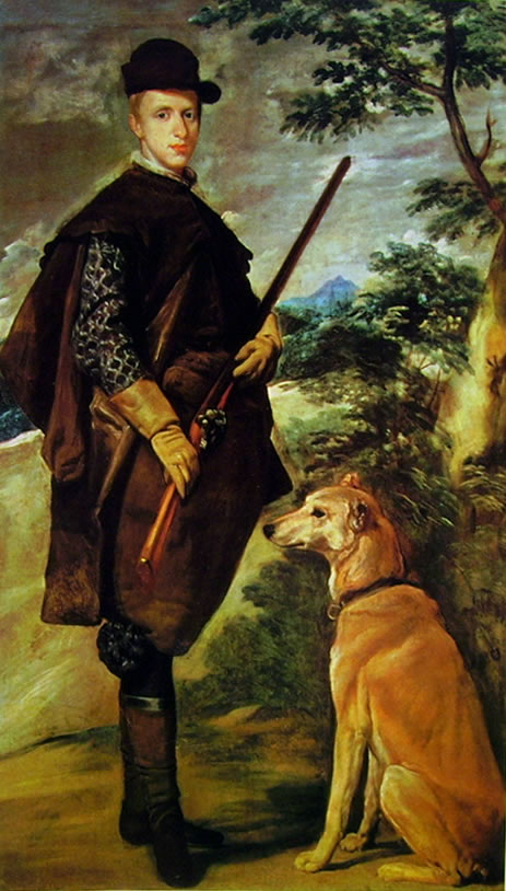 L'infante Fernando Cacciatore, Madrid Prado (cm. 107)