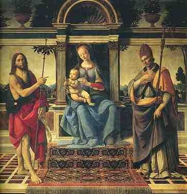Andrea del Verrocchio e Lorenzo Credi : Madonna di Piazza