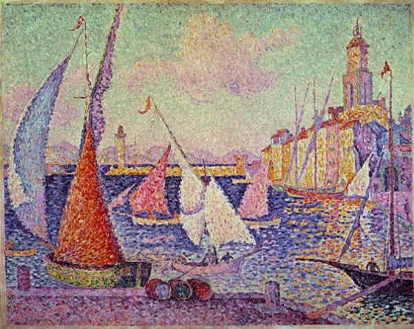 Biografia di Paul Signac: Le port de Saint-Tropez