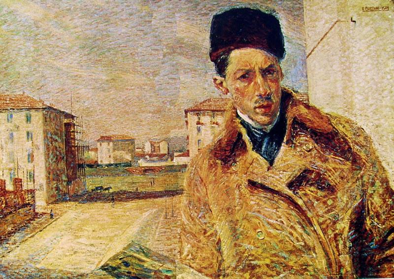 Autoritratto di Umberto Boccioni