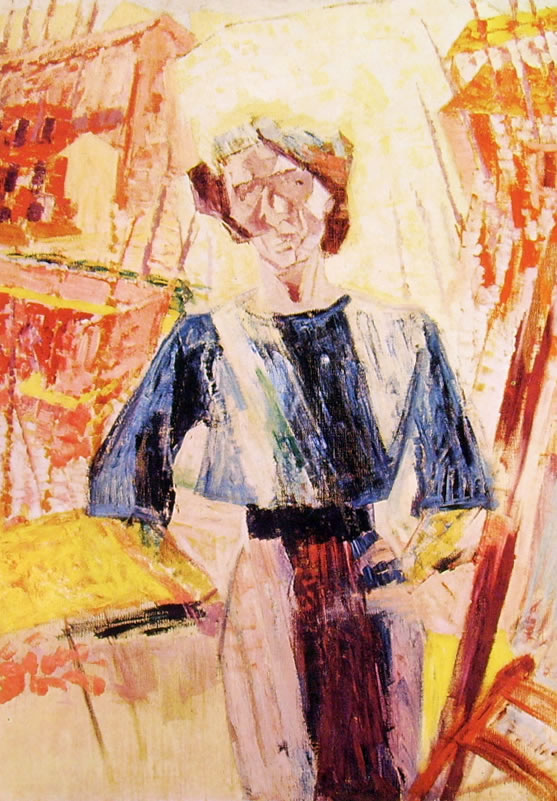 Umberto Boccioni:Ritratto di Ines