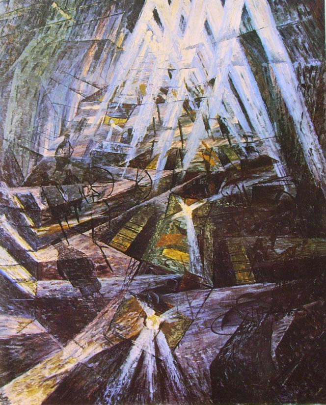 Umberto Boccioni:Le forze di una strada