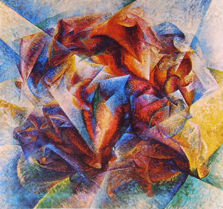 Umberto Boccioni:Dinamismo di un foot-baller