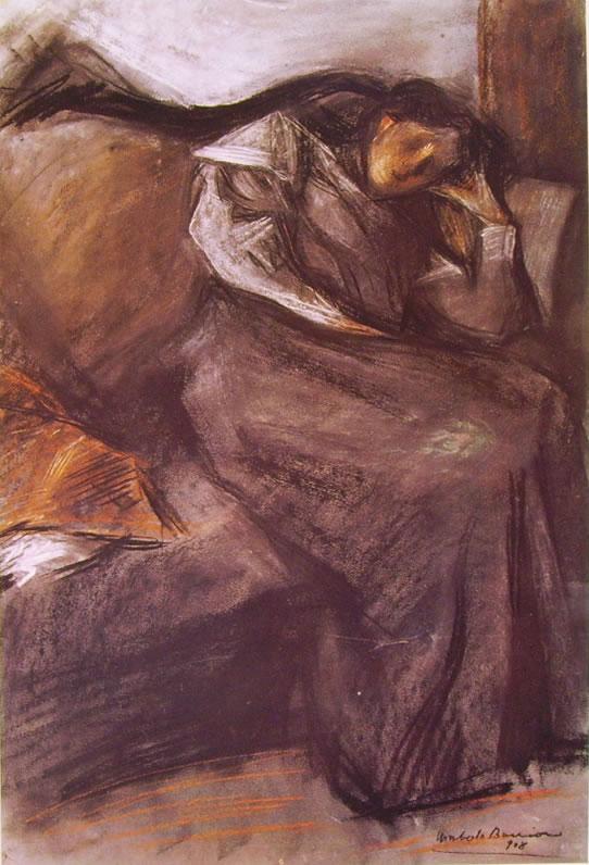 Umberto Boccioni:Il riposo (Collezione Chiattone)