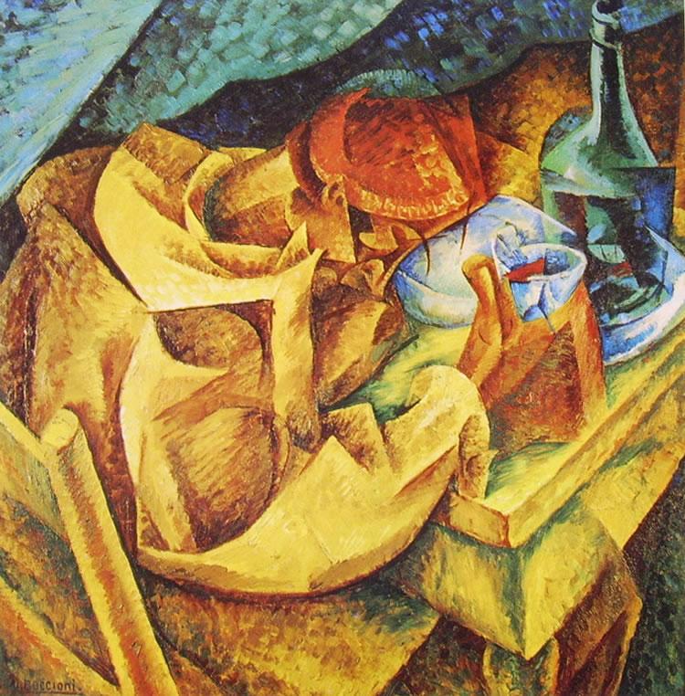 Umberto Boccioni:Il Bevitore (Collezioni Jucker)