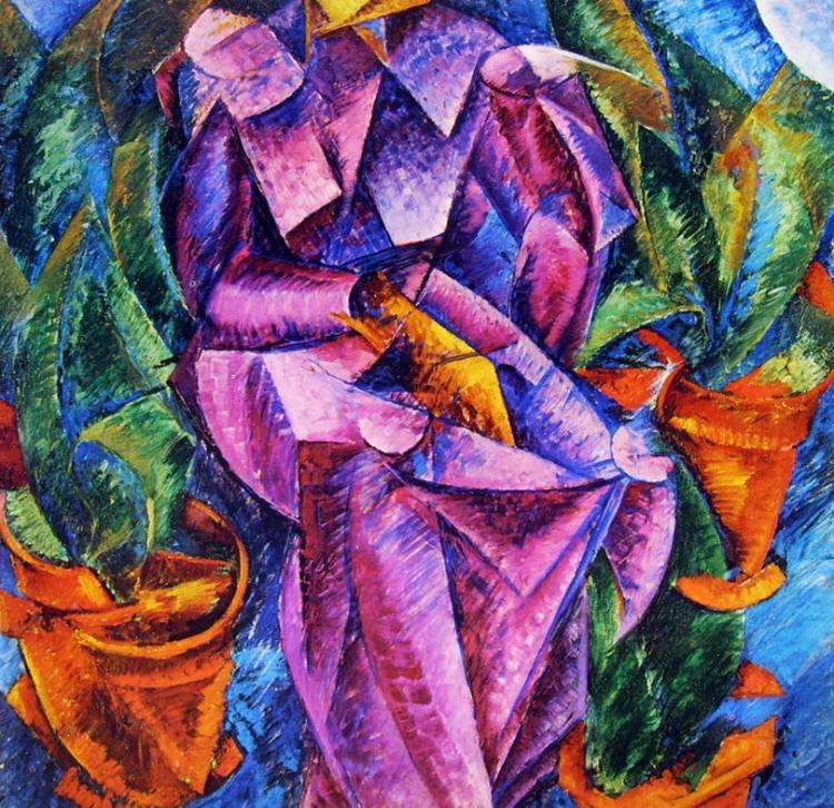 Umberto Boccioni:Costruzione spiralica