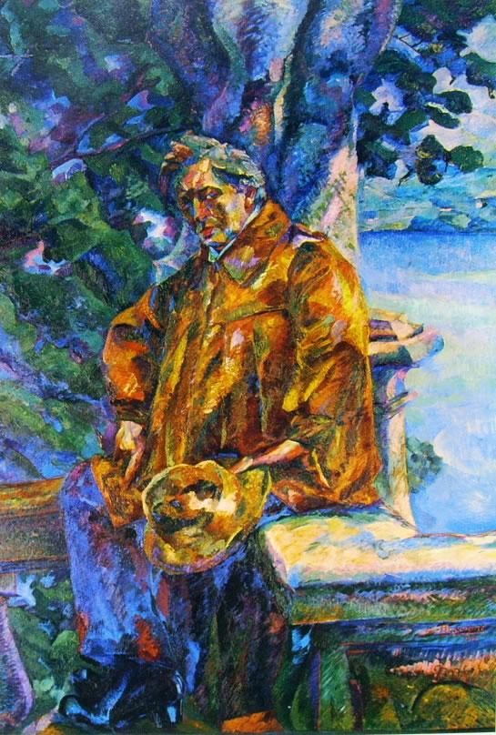 Umberto Boccioni:Ritratto del Maestro Ferruccio Busoni