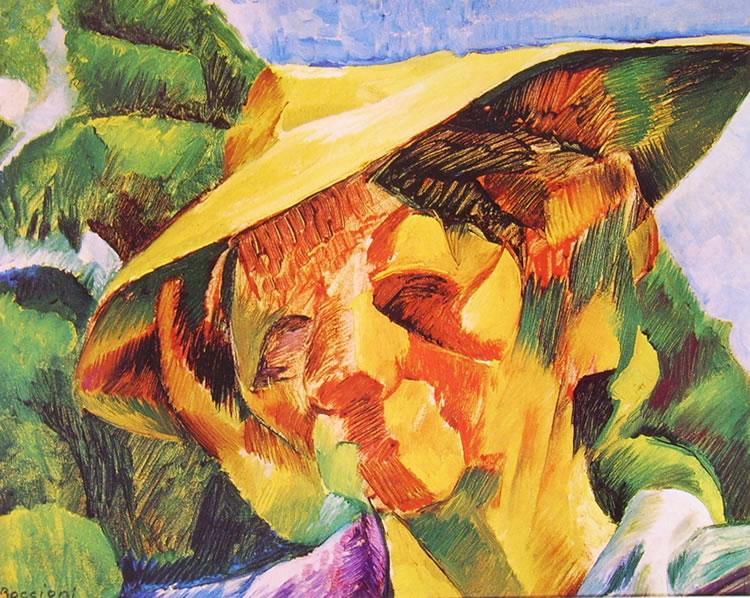 Umberto Boccioni:Ritratto della signora Busoni