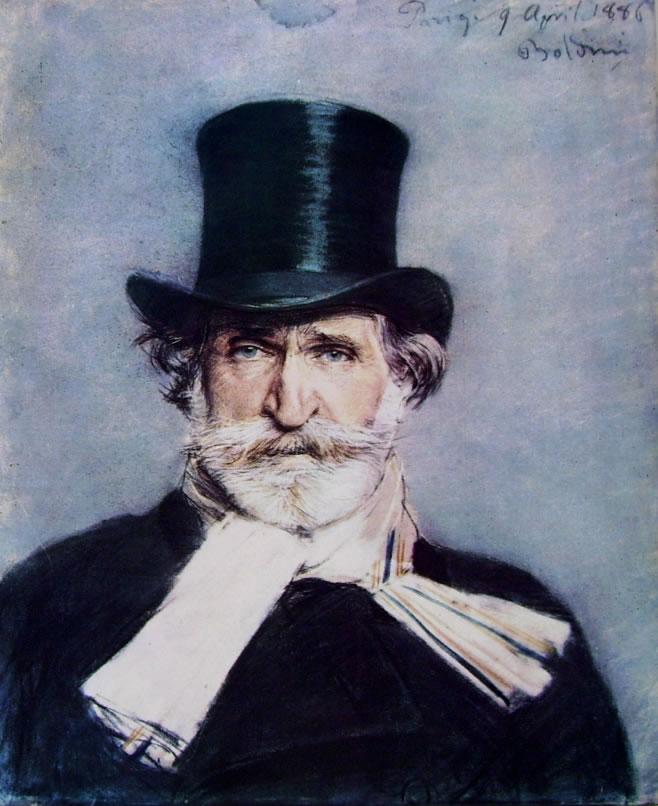 Giovanni Boldini: Ritratto di Giuseppe Verdi
