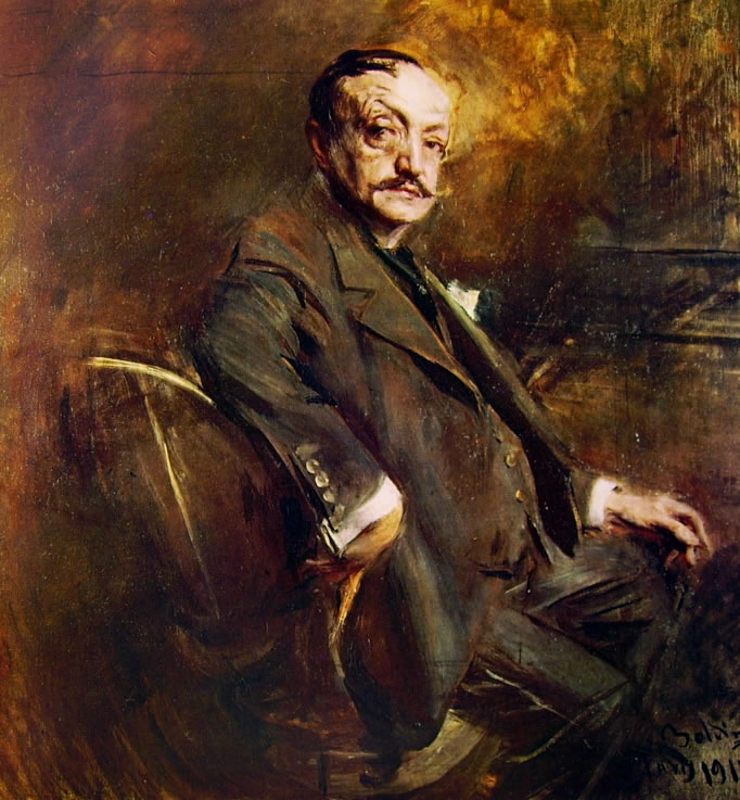 Giovanni Boldini: Autoritratto a sessantanove anni