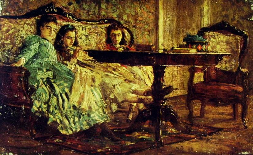 Giovanni Boldini: Ritratto delle sorelle Laskaraki