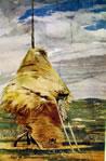 Dipinto murale della Falconiera, cm. 205 x 113, Pistoia