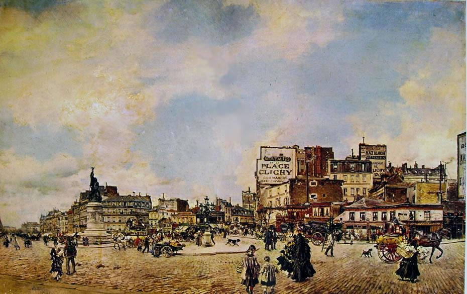 Giovanni Boldini: Place Clichy a Parigi