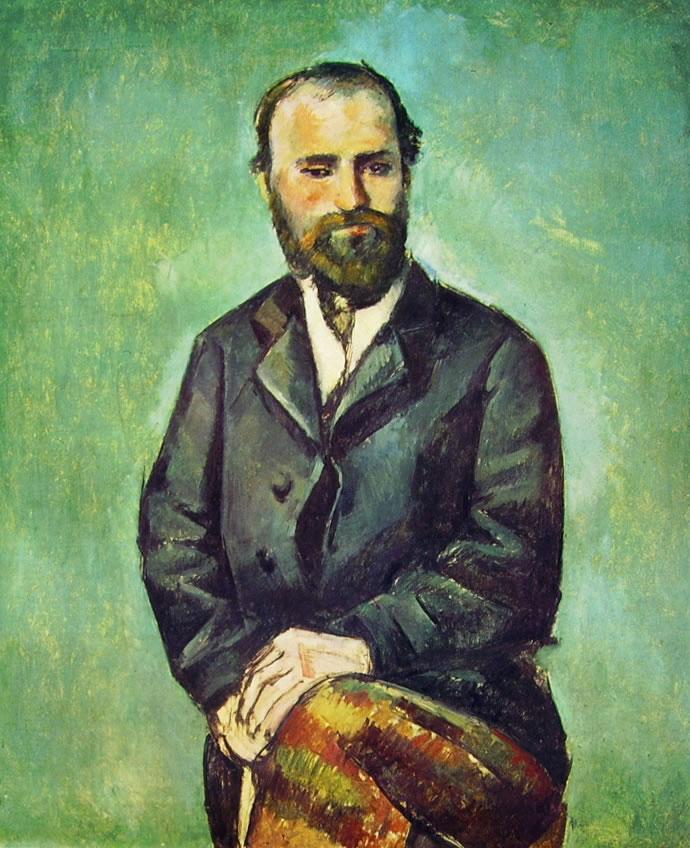 Paul Cezanne: Uomo seduto (Basilea)