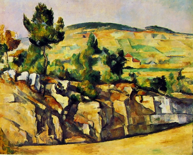 Paul Cezanne: Rupi e colli in Provenza
