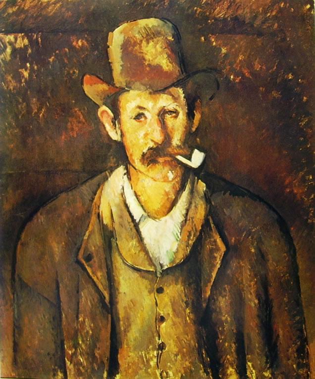 Paul Cezanne: Uomo con pipa (Londra)