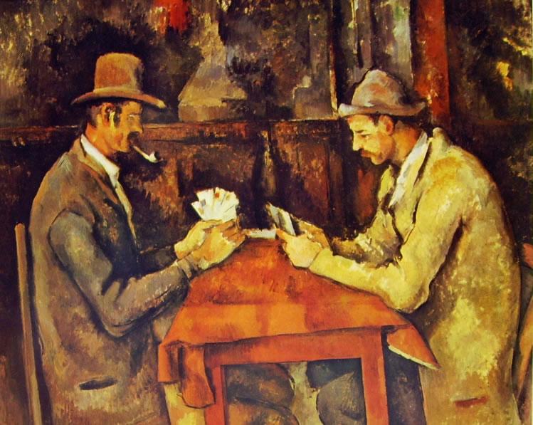 Paul Cezanne: Giocatori di carte (Londra)