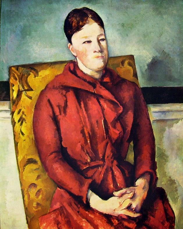 Paul Cezanne: La signora Cezanne nella poltrona gialla