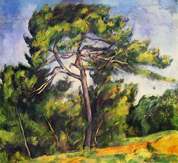 Paul Cezanne: Il grande pino (San Paolo)