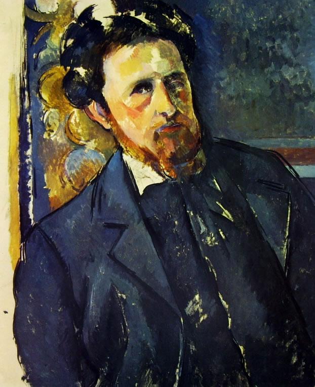 Paul Cezanne: Ritratto di Joachim Gasquet