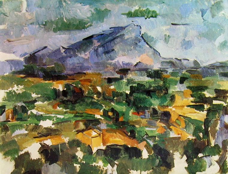 Paul Cezanne: La montagna Sainte Victoire