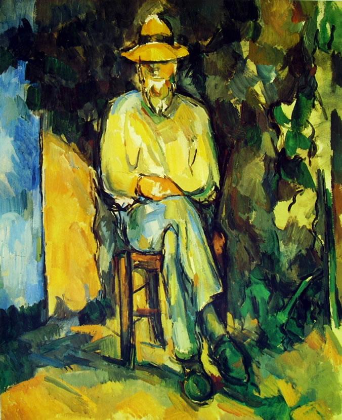 Paul Cezanne: Il giardiniere (Tate Gallery)