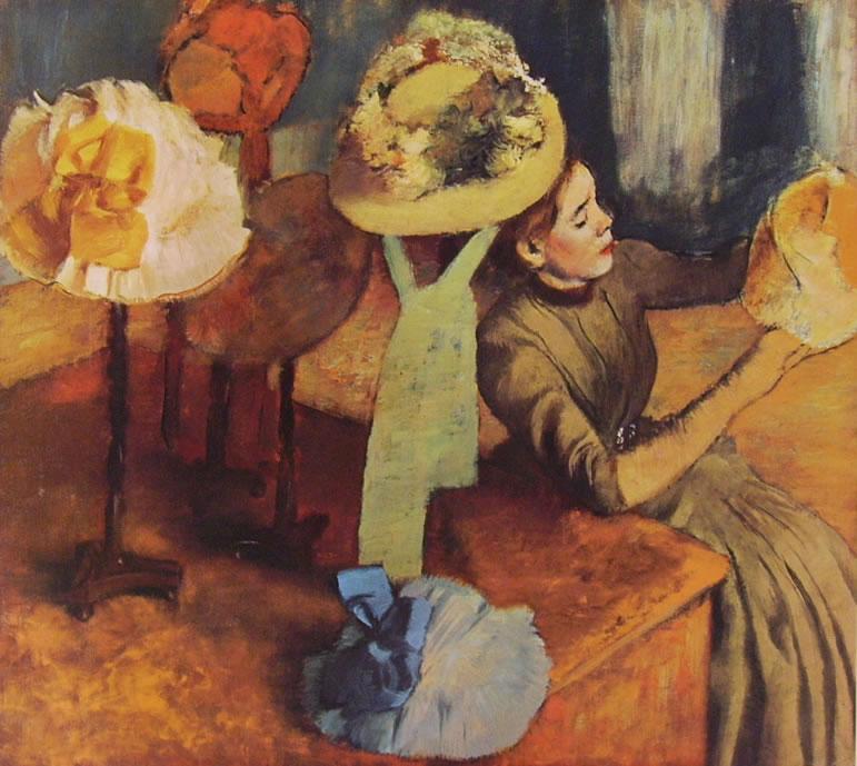 Edgar Degas: Modista