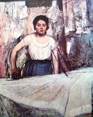 La stiratrice di Edgar Degas